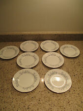 Minton Pandora Wreath stamp 8 Bread & Butter Plates
