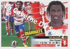 N°05 PAPE MALICKOU DIAKHATE # SENEGAL GRANADA.CF STICKER PANINI ESTE LIGA 2014
