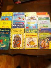 25 Little Golden books vintage to new including 2 first editions good condition