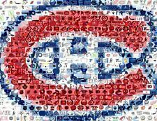 Amazing Montreal Canadiens NHL Montage Limited to 25!