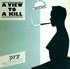 """DJ 's Factory-A View to a Kill - 12"""" maxi-c095 - Ltd Edition-White Vinyl-Washed"""