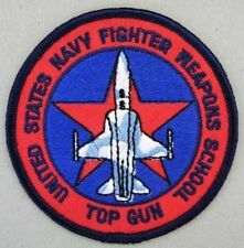IRON ON TOPGUN US NAVY FIGHTER PATCH BUY 2 GET 1 FREE