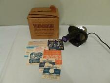 Vintage Sawyer's View-master Junior Projector w/Box Couple Reels and Paperwork