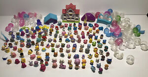Squinkies Disney Dogs Dinos Horses Girls Kittens Babies Bubbles Over 140 Lot