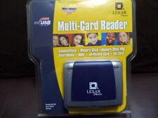 NEW SEALED LEXAR MEDIA CARD READER CERTIFIED HI-SPEED USB MEMORY STICK PRO SD