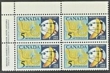 Canada    # 479 ULpb Weather Map  Brand New 1968 Pristine Gum Issue