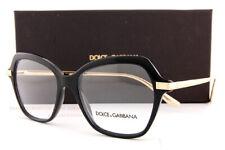 Brand New Dolce & Gabbana Eyeglass Frames DG 3311 501 Black For  Women SZ 53