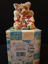 Enesco This Little Piggy Sugar Plump Fairy 1995 With Box