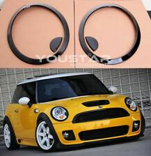 Us Stock Set Gloss Black Headlight Trims for Mini Cooper S R56 R57 R55 Clubman