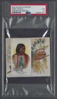 1888 N36 Allen & Ginter American Indian Grey Eagle Graded PSA 3