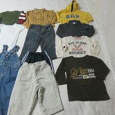 Boys 13 Pce Clothing Lot - Toddler Gymboree,Gap,Mexx, Etc. Size 12-18 Mths