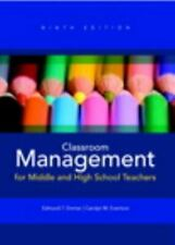 Classroom Management for Middle and High School Teachers [9th Edition]