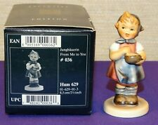 "Mi Hummel Goebel ""From Me To You"" Figurine #Hum 629 Tmk 7 Germany Membership"