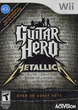 Guitar Hero Metallica (Game Only) WII New Nintendo Wii