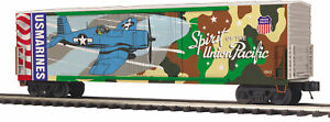 MTH Trains 20-93755 Union Pacific Spirit US Marines Double Door Plugged Boxcar