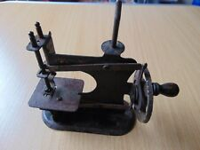 RARE UNUSUAL ANTIQUE MINIATURE SEWING MACHINE c1880