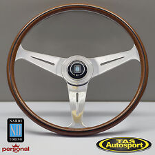 Nardi Steering Wheel ND CLASSIC WOOD Grain Polished Spokes 390mm 5061.38.3000