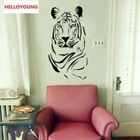 Removable Creative Tiger Wall Stickers Waterproof Wallpapers Mural All Match
