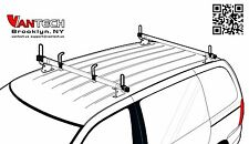 "60"" Steel ladder Roof Rack for Minivan Astro Safari Van 2 bar racks BLACK M2 NEW"