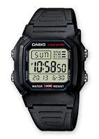 NEU Casio Schwarz Unisex Armbanduhr Casio Collection W-800H-1AVES