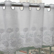 1y Cotton Embroidered lace Window Valance curtain yh557 (90x26.5cm) laceking2013