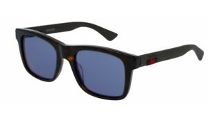 Gucci Mens sunglasses GG0008S in colour 003 havana black with case and cloth