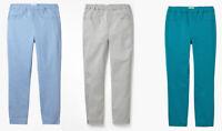 EX WHITE STUFF Teal Beige Blue CROP Capri JEGGINGS LEGGINGS Jeans 10 12 14 16 18