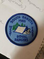 1985 Royal Rangers South Dalkota West East Uniform Patch
