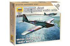 ZVEZDA 6218 1/144 British Light Bomber Fairey Battle