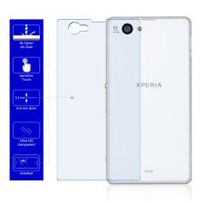 2x 9H Handy Cover Echt Glas Schutzfolie Für Original Sony Xperia Z1 Compact Back