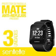 Sentete® 3x Garmin Forerunner 35 Protector de Pantalla MATE PREMIUM