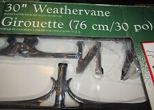 Whitehall Products 30 Inch Horse Accent Weathervane Black 100% Recycled Aluminum