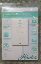 NEW SEALED - Hunter - 99120 Universal  Wall Mount Control for Ceiling Fan/Light