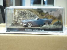 JAMES BOND 007,SUNBEAM ALPINE SPORTS,FROM,DR NO,DIORAMA,COLLECTION EDITION