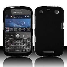 Rubber Black Rubberized HARD Case Phone Cover BlackBerry Curve 9350 9360 9370