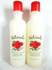TWO NEW Vintage AVON Naturals Harvest Apple Foam Bath 8.4 fl oz Sealed