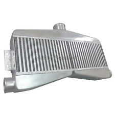"CXRacing Universal 2-in-1-out Twin Turbo Intercooler 3.5"" Thick Core"