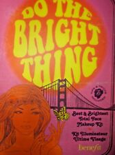"""BENEFIT """"Do The Bright Thing"""" Make-up kit.  Best and brightest! NIB"""