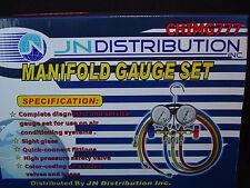 HVAC A/C  R12 Manifold Gauges Refrigeration Air Conditioning Diagnostic Tool R22