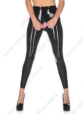 118 Latex Gummi Rubber cod piece Legging pants trousers catsuit customized 0.4mm