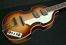 Hofner HCT 500/1 CAVERN BEATLE BASS VINTAGE LOOK Hard to find Light Brown Burst