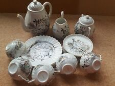 Vintage Japanese china/eggshell Coffee/ Tea set. 19 pieces good condition