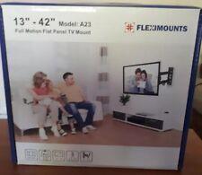 Fleximounts A23 TV Wall Mount Bracket Full Motion Articulating Swivel & Tilt...