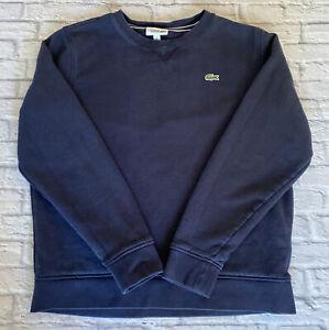 Lacoste Sport Blue Sweatshirt Medium