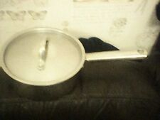 EKCO ETERNA PAN 18/10 STAINLESS STEEL 19CM DIAMETER 9CM HIGH WITH LID