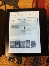 Amazon Kindle Oasis (8th Generation) 4GB, Wi-Fi, 6in - Black (Black Leather