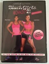 Gymnetics Fitness Ellen & Lana Ector Black Girls Workout 2 DVD Brand New Sealed