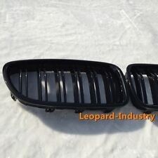 BMW grille M5 look 5 series 2010+ F10 / F11 528i 535i 550 gloss black doubleslat
