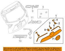 MAZDA OEM 13-15 CX-5 Liftgate Tailgate Hatch-Rear Molding KD4550810A40