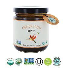 GREENBOW Organic Amazon Forest Honey - 100% Organic Gluten Free Non-GMO Organ...